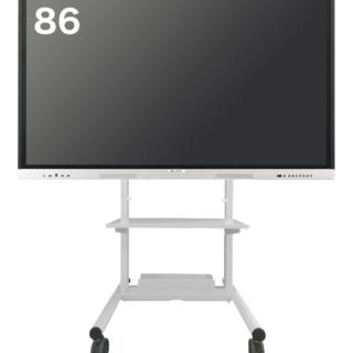 ELMO Board 86インチ 標準スタンド(白) ELB-ELM86S8-WH