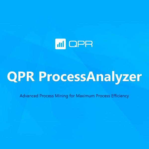 経営改革業務プロセス改善 QPR ProcessAnalyzer