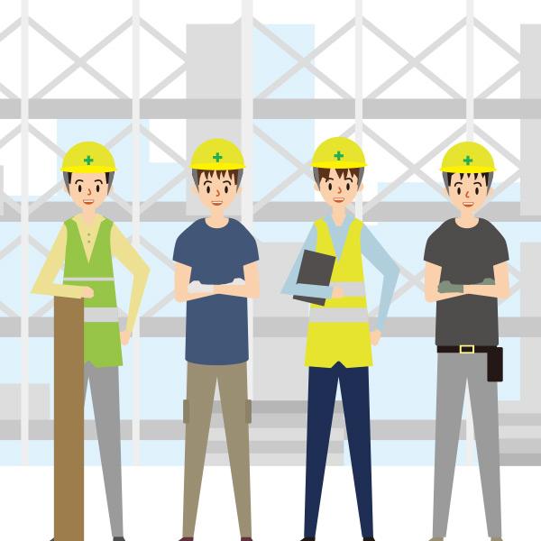 建設業向け施工・労務・勤怠管理 らくらく現場